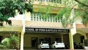School of Pure and Applied Physics - MG University : MG